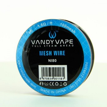 Bobine Mesh Wire NI80-100 Vandy Vape