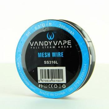 Bobine Mesh Wire SS316L-300 Vandy Vape