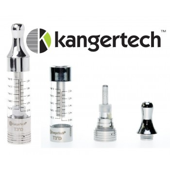 Clearomizer Kanger T3D (lot de 5)