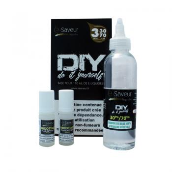 Pack DIY E Saveur 150ml 03mg
