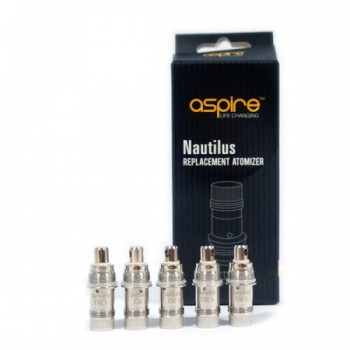 Pack 5 meches BVC Nautilus Aspire