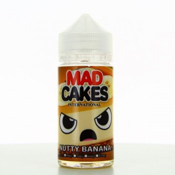 Nutty Banana ZHC Mix Series Mad Cakes 100ml 00mg