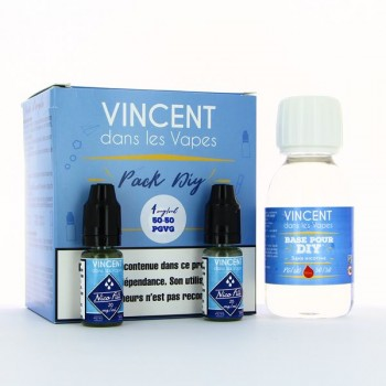 Pack DIY 100ml 50/50 4mg VDLV