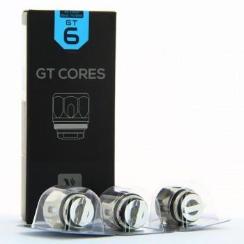 Pack de 3 resistances GT6 Core 0.2ohm NRG Vaporesso