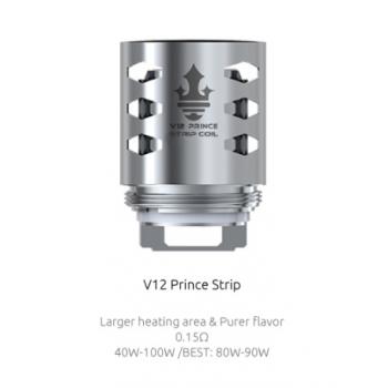 Pack de 3 resistances Strip 0.15ohm TFV12 Prince Smoktech