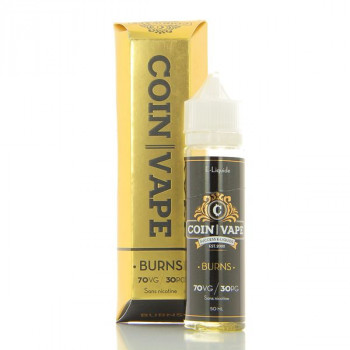 Burns Coin Vape 50ml 00mg