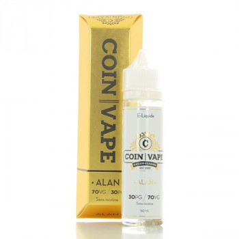 Alan Coin Vape 50ml 00mg
