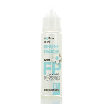 Menthe Fraiche 50/50 Flavour Power 50ml 00mg