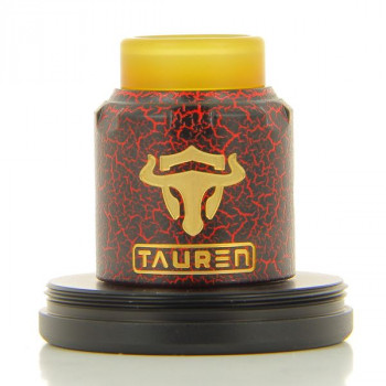 Tauren RDA Black / Red Cracked Thunderhead