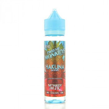 Hakuna Iced 12Monkeys 50ML 00MG