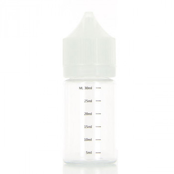 Fiole vide Chubby avec graduation 30ml Librapacking