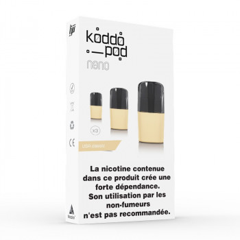 Pack de 3 Pods de 2ml USA Classic Le French Liquide KoddoPod