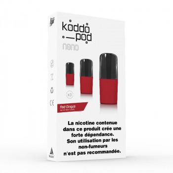 Pack de 3 Pods de 2ml Le French Liquide KoddoPod