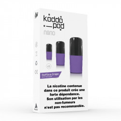 Pack de 3 Pods de 2ml Souffle Du Dragon Le French Liquide KoddoPod