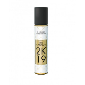 The Cannoli 2K19 Edition Gold Savourea 50ml 00mg