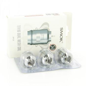 Pack de 3 résistances Dual Mesh 0,12ohm TFV16 Smok