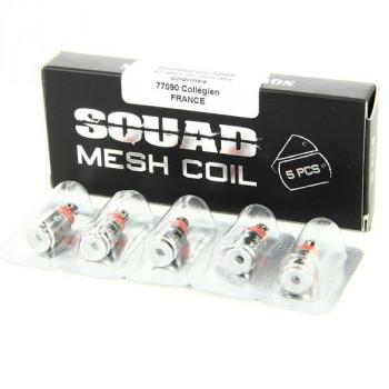 Pack de 5 résistances Squad Mesh 0.6ohm Squid Industries