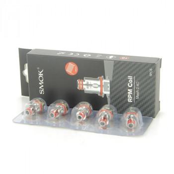 Pack de 5 résistances Mesh 0.4ohm RPM40 Smok