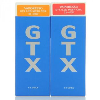 Pack de 5 resistances GTX Target PM80 Vaporesso