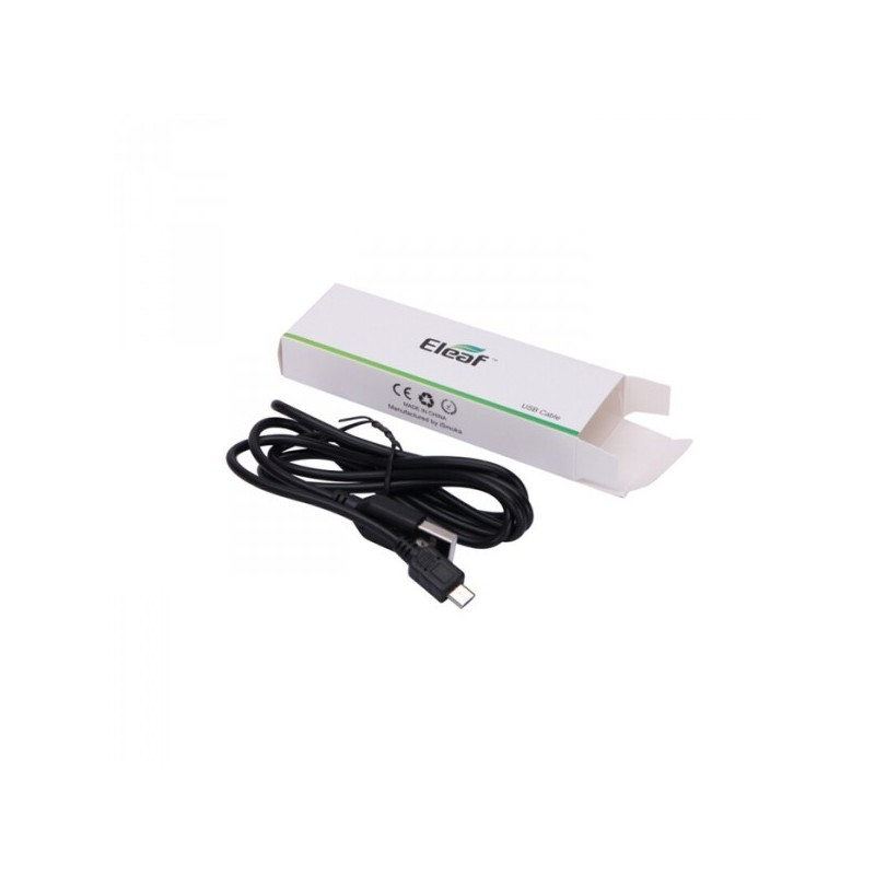 Chargeur cable mini USB E-Leaf
