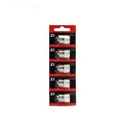 Pack de 5 resistances Goliath V2 0.5ohm Youde Tech