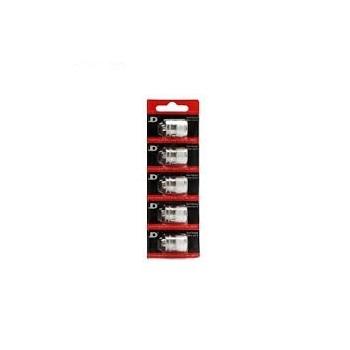 Pack de 5 resistances Goliath V2 0.5ohm Youde Tech