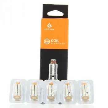 Pack de 5 résistances G coil ST 1.2ohm Aegis Pod/Wenax Stylus GeekVape
