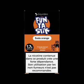 Pack de 4 Pods de 1ml Funtastik W Pod (W Cig) 20mg