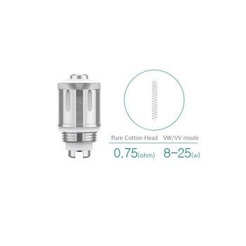 Pack de 5 resistances 0.75 ohms GS Air 2 Eleaf