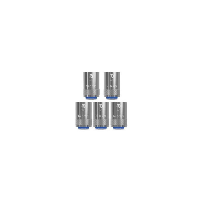 Pack de 5 résistances Cubis 0.2 ohms Joyetech
