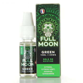 Green Nic Salt Full Moon 10ml 20mg