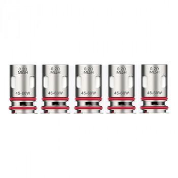 Pack de 5 résistances GTX V2 0,6 ohm PM80 Vaporesso