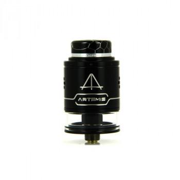 Artemis RDTA V1.5 4ml Silver Black Thunderhead