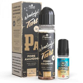 Poire Amandine Easy2Shake 50/50 03mg 50ml Wonderful Tart Le French Liquide