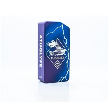 Tuglyfe Non Régulée Box Mod V2 Purple/Blue/White Lightning Flawless Distribution