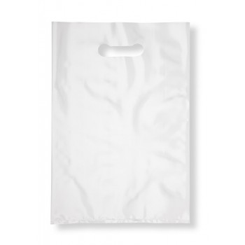 Sac Plastique 50microns 24X38 Blanc