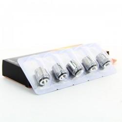 Pack de 5 résistances Q2 Dual TFV8 Baby Smoktech