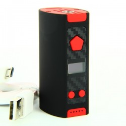 Rusher Mini Box 50W Noir et Rouge SV