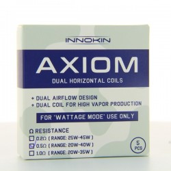 Pack de 5 resistances Axiom Innokin