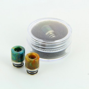 Drip Tip Epoxy Resine 510 Wide Bore
