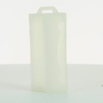 Etui silicone transparent 2 accus 18650
