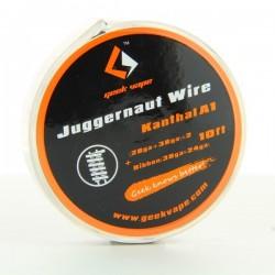 Kanthal A1 Juggernaut (28GA+38GA)x2 + Ribbon(38GAx24GA) 3m Geek Vape