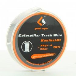 Kanthal A1 Caterpillar Track 28GAx4+30GA 3m Geek Vape