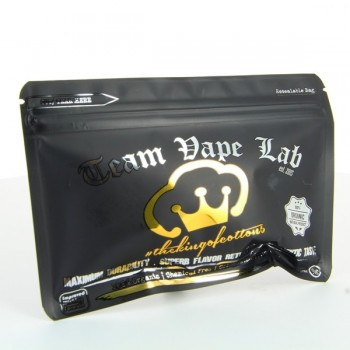 King of Cottons 9gr Black edition Team Vape lab