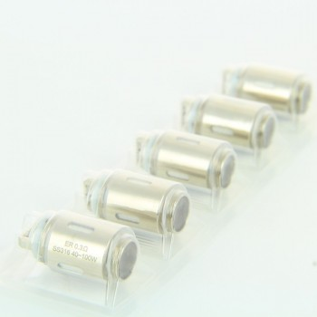 Pack de 5 resistances ER 0.3ohm RT22 Eleaf