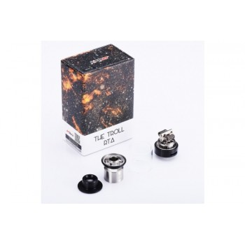 The Troll RTA 5ml Black Wotofo