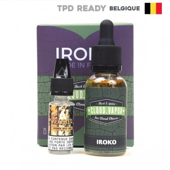 Iroko Shake and Vape Belgium Cloud Vapor 30ml