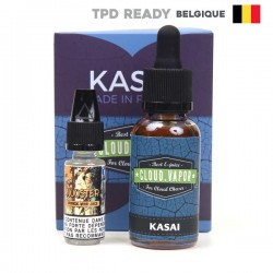 Kasai Shake and Vape Belgium Cloud Vapor 30ml