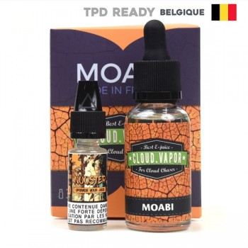 Moabi Shake and Vape Belgium Cloud Vapor 30ml