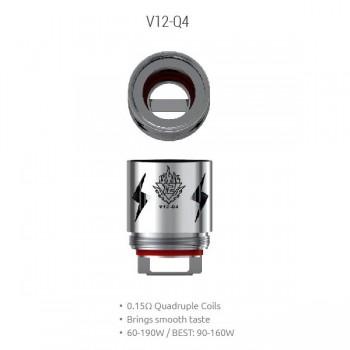 Pack de 3 résistances V12 Q4 TFV12 Smoktech